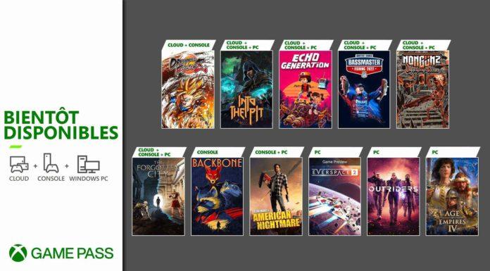 Xbox Game Pass (fin octobre 2021) - Jeux